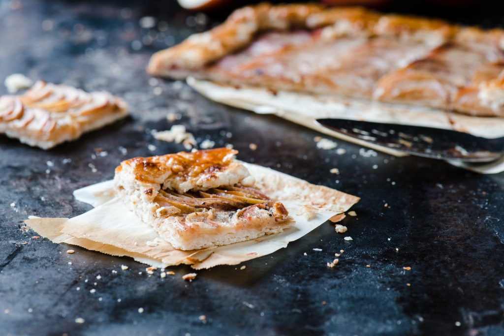 Salted Butter Apple Galette - Surprisingly easy to make and extremely delicious!