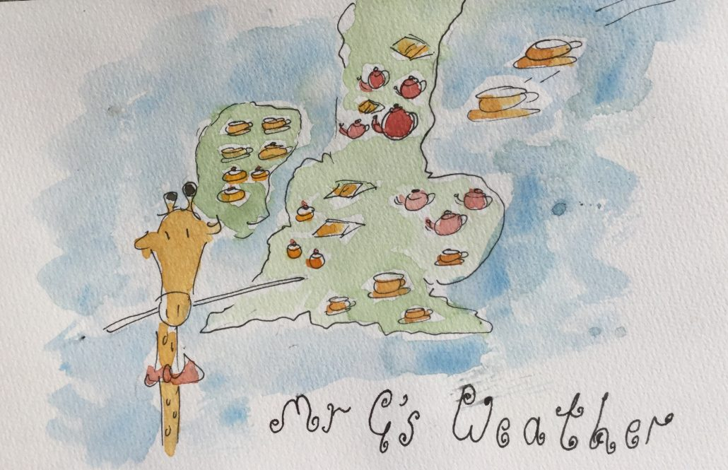 Mr G's tea and cake forecast