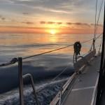 Sunset near Catalina