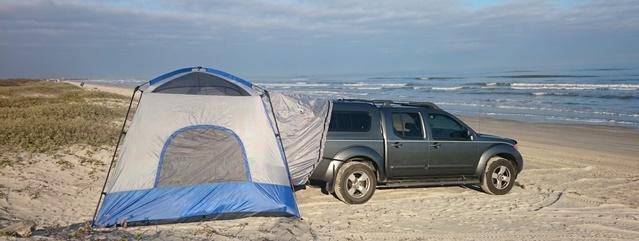 Napier Tent Set Up
