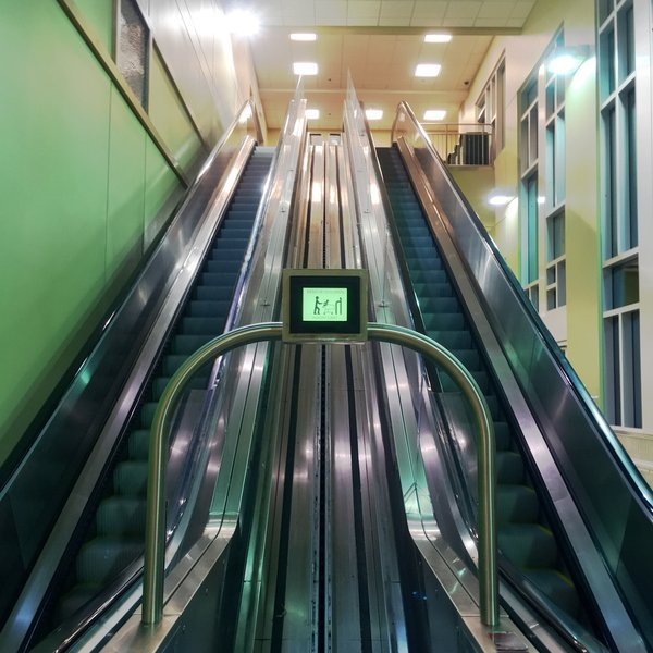 cart escalator