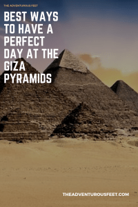 best ways to have a perfect day at the giza pyramids
