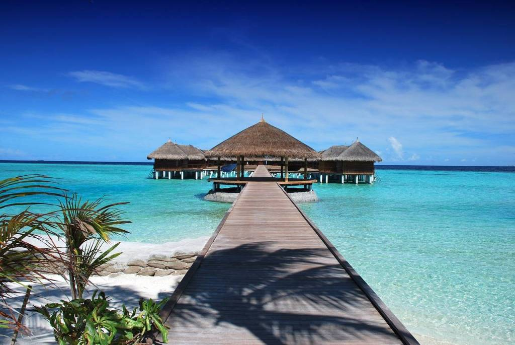 Maldives is one of the most romantic places in the world perfect for a honeymoon destination or just a romantic holiday getaway for couples.