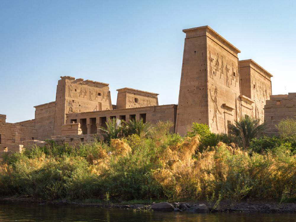 Philae Temple Complex is one of the famous monuments in Egypt