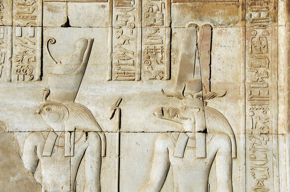 Temple of Kom Ombo is one of the famous landmarks in Egypt