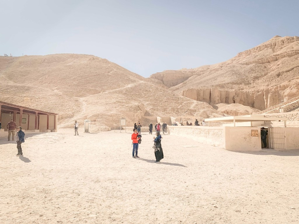 valley of the kings is one the famous monuments in Egypt