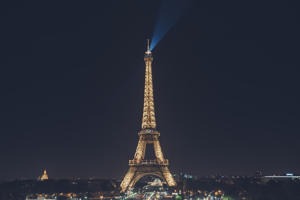 The Eiffel Tower- one of the the most beautiful places in paris