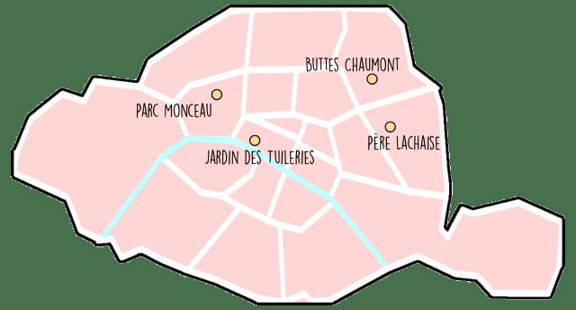 romantic places to visit in paris