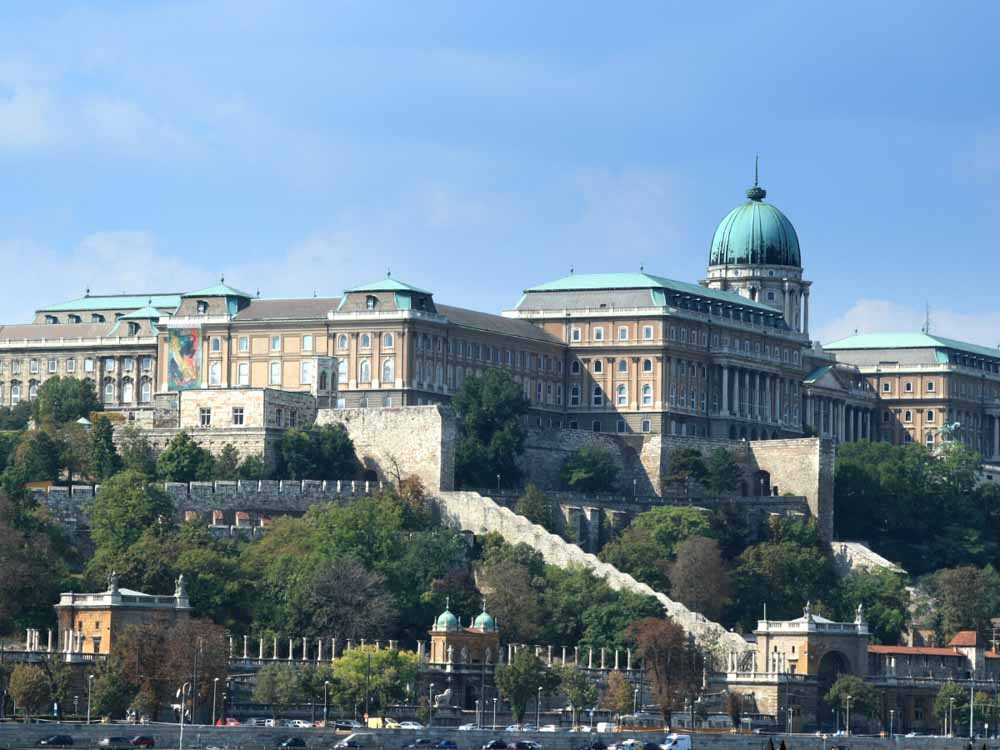 Buda Castle, Budapest is one of the famous monuments in Europe