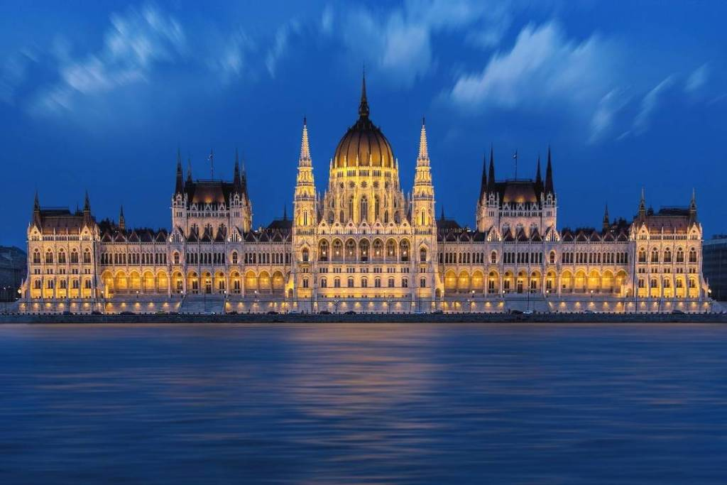 Hungarian Parliament Building in Budapest is one of the famous European buildings