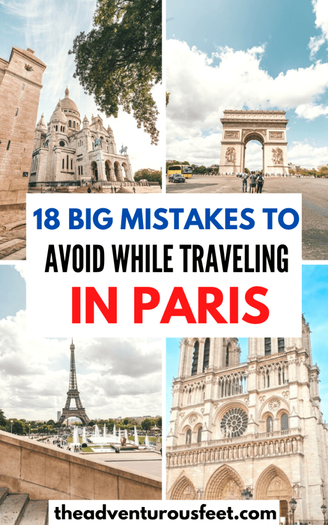 Traveling to the French capital? Here are the big mistakes to avoid when visiting Paris   Travel mistakes to avoid in Paris Costly mistakes to avoid in Paris  Silly mistakes to avoid in Paris  Paris travel tips for first-timers  things to know before traveling to Paris  what not to do in Paris  Mistakes to avoid when traveling to Paris France  paris travel tips  things to know before traveling to Paris#travelmistakesinparis #firsttimeinparistips #travelmistakestoavoidinparis #theadventurousfeet