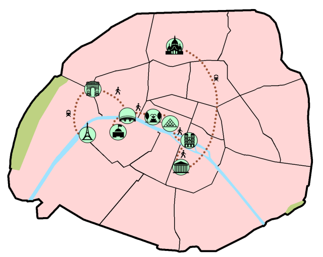 paris one day itinerary