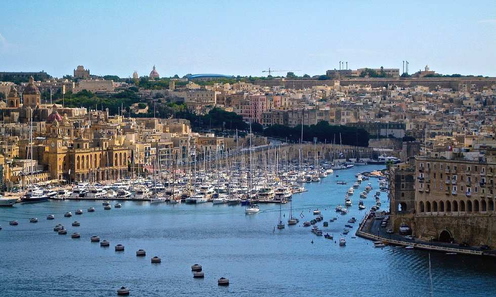 Valletta, Malta is one of the best romantic breaks in Europe