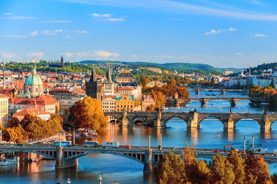 Prague, Czech Republic is one of the romantic holidays in Europe