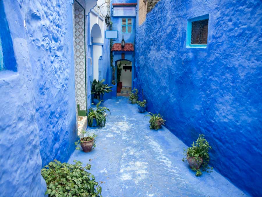 Chefchaouen is one of the famous monuments in Africa