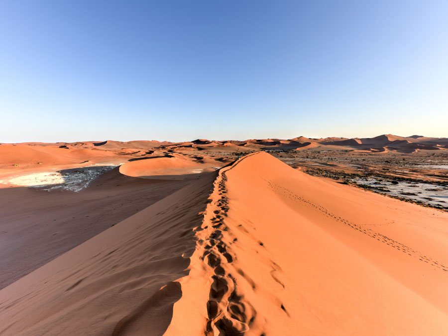 Sossusvlei is one of the natural landmarks in Africa