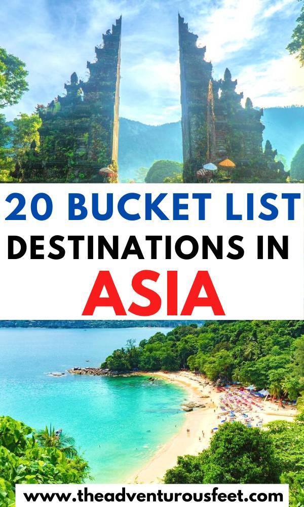 Planning to travel to Asia? Here are the most beautiful cities in Asia to consider. | Asia bucket list places |best cities to visit in Asia | best places to visit in Asia | Best places to visit in South East Asia |best Asia travel places to visit | best Asian cities to visit |best Asian cities to travel to |beautiful places in Asia |places in Asia to travel | Bucket list destinations in Asia| travel bucket list destinations Asia #bestcitiesinAsia #Asiatravelplaes #theadventurousfeet