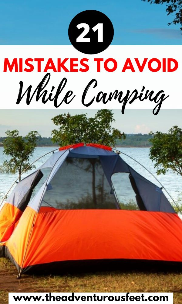 Going camping for the first time? Here are the camping mistakes to avoid| what not to do while camping| things not to do while camping| mistakes to avoid while camping| camping tips and tricks| camping hacks camping for beginners| camping tips for first timers | camping for beginners #campingtips #campinghacks #campingmistakestoavoid #campingforbeginners
