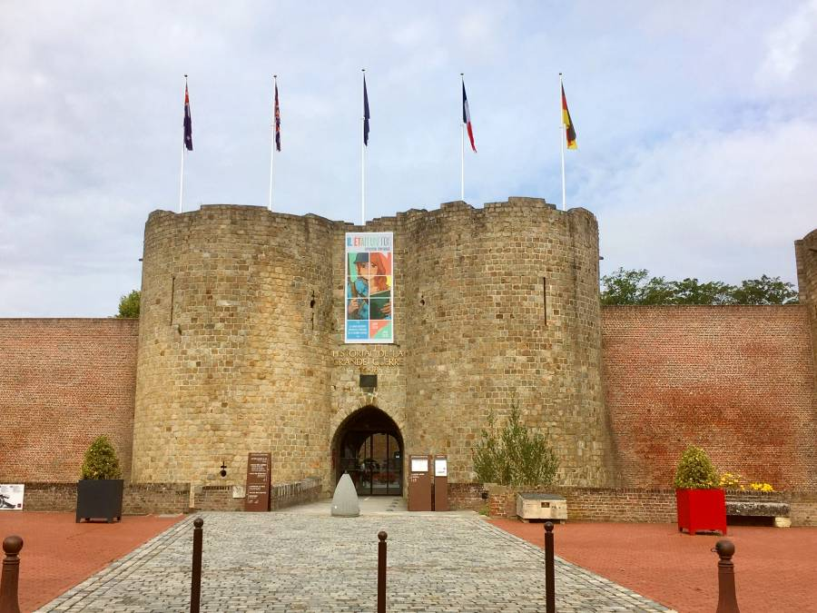 Museum of the Great War, Peronne is one of the top museums in Europe