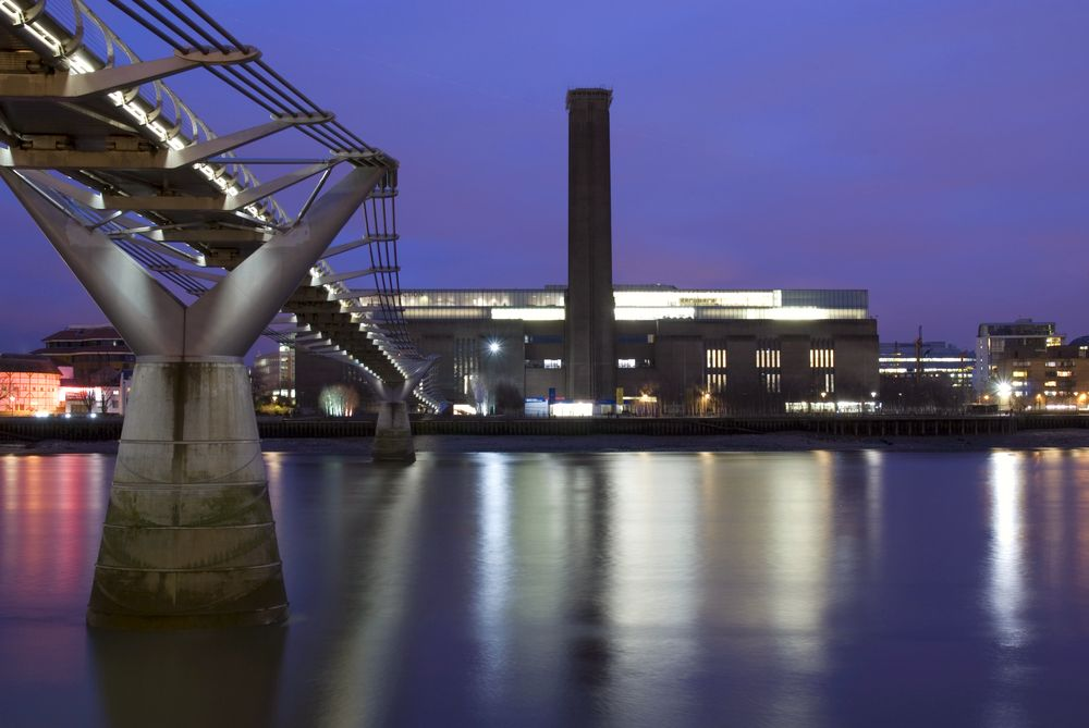 The Tate Modern, London is one of the best museums in Europe