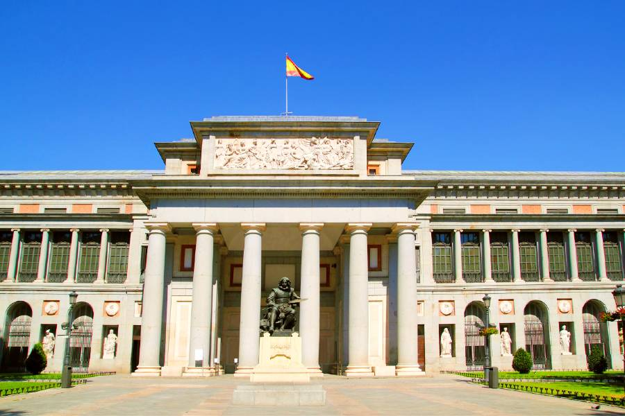 The Prado, Madrid is one of the best art museums in Europe