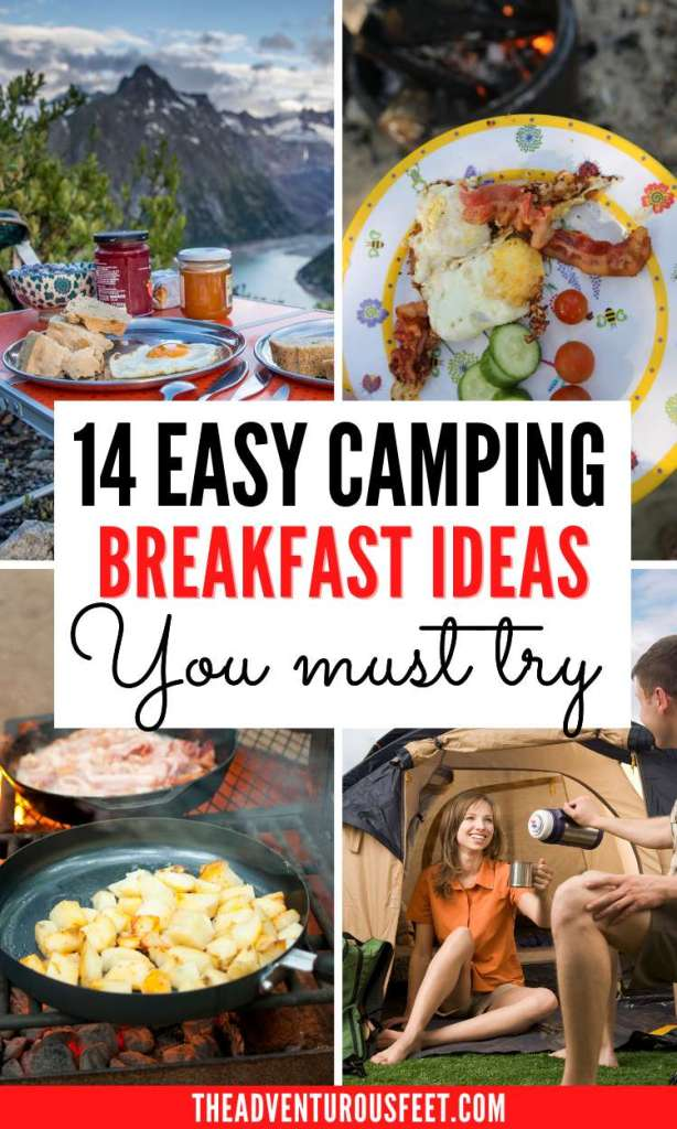 Planning to go camping and looking for breakfast ideas? Here are the best camping breakfast ideas that are easy to make  camping breakfast ideas for kids  easy camping breakfast meals  RV camping meals breakfast  healthy camping meals breakfast   breakfast recipes for camping  best camping breakfast recipes  breakfast for camping ideas  easy breakfast for camping  easy breakfast ideas for camping   camping recipes for breakfast  non cooking breakfast ideas