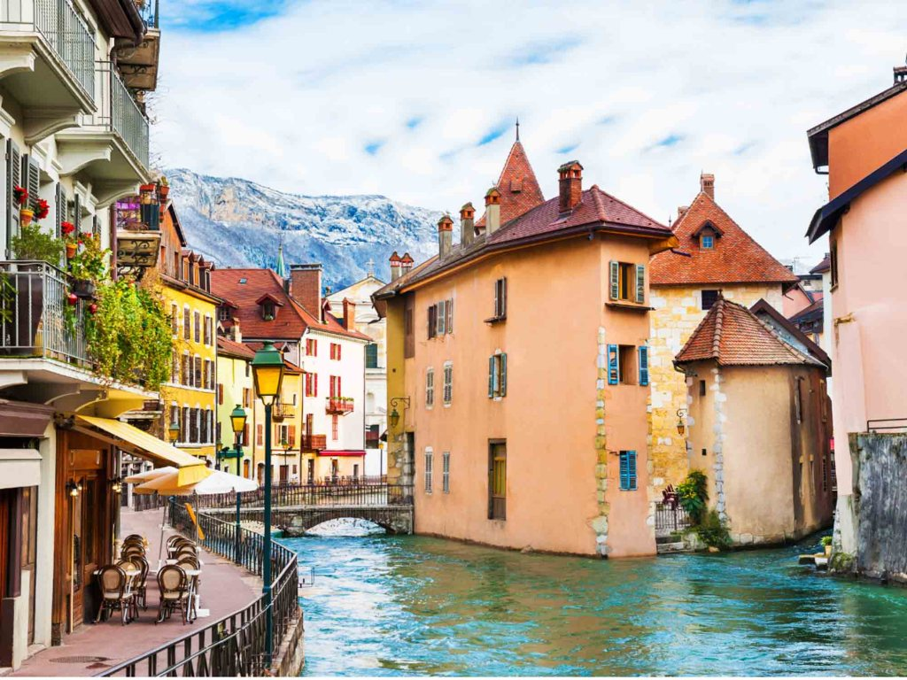 Annecy is one of the most beautiful cities in France