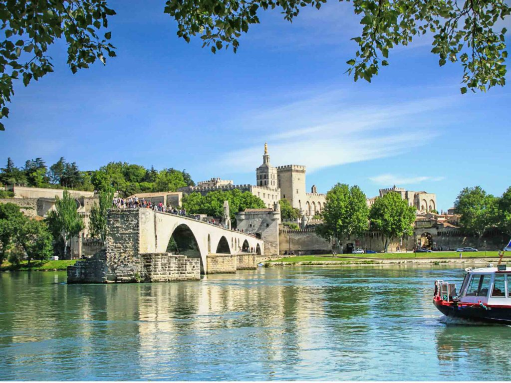 Avignon is one of the most beautiful cities in France brimming with history