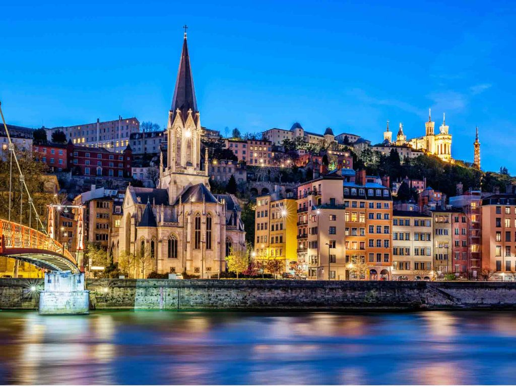 Lyon is one of the most beautiful cities in France