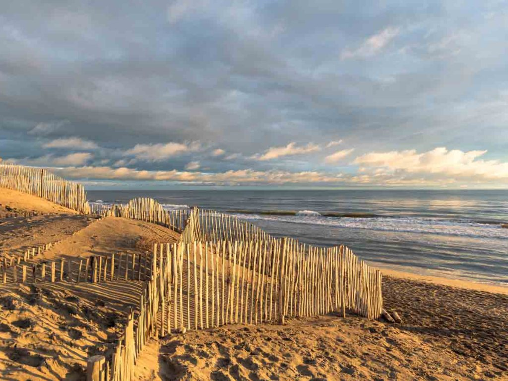 Plage de l'Espiguette is one of the best southern France beaches
