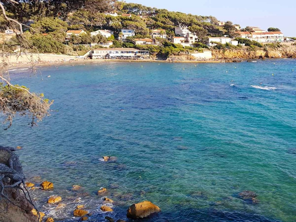 Plage de Portissol is one of the best south of France beaches