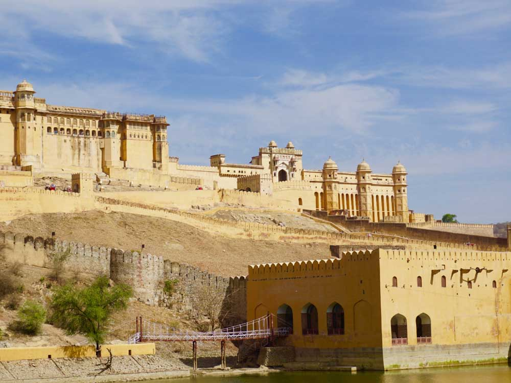 Amer Fort is one of india's landmarks