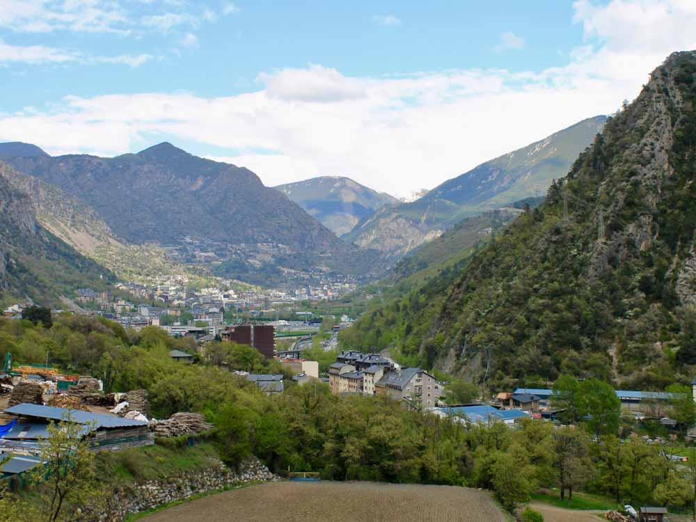 Andorra la Vella is one of the capitals of countries of europe