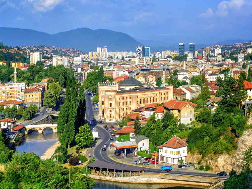Bosnia and Herzegovina - Capital, Sarajevo