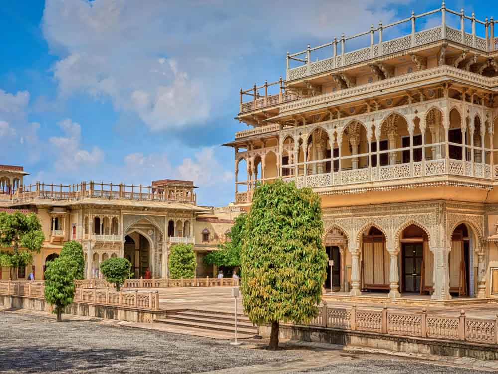 City Palace is one of the famous buildings in india