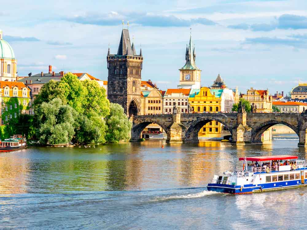 Prague is one of the beautiful capital cities in Europe