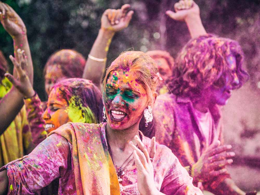 Holi Festival  is one of the fun things known about India