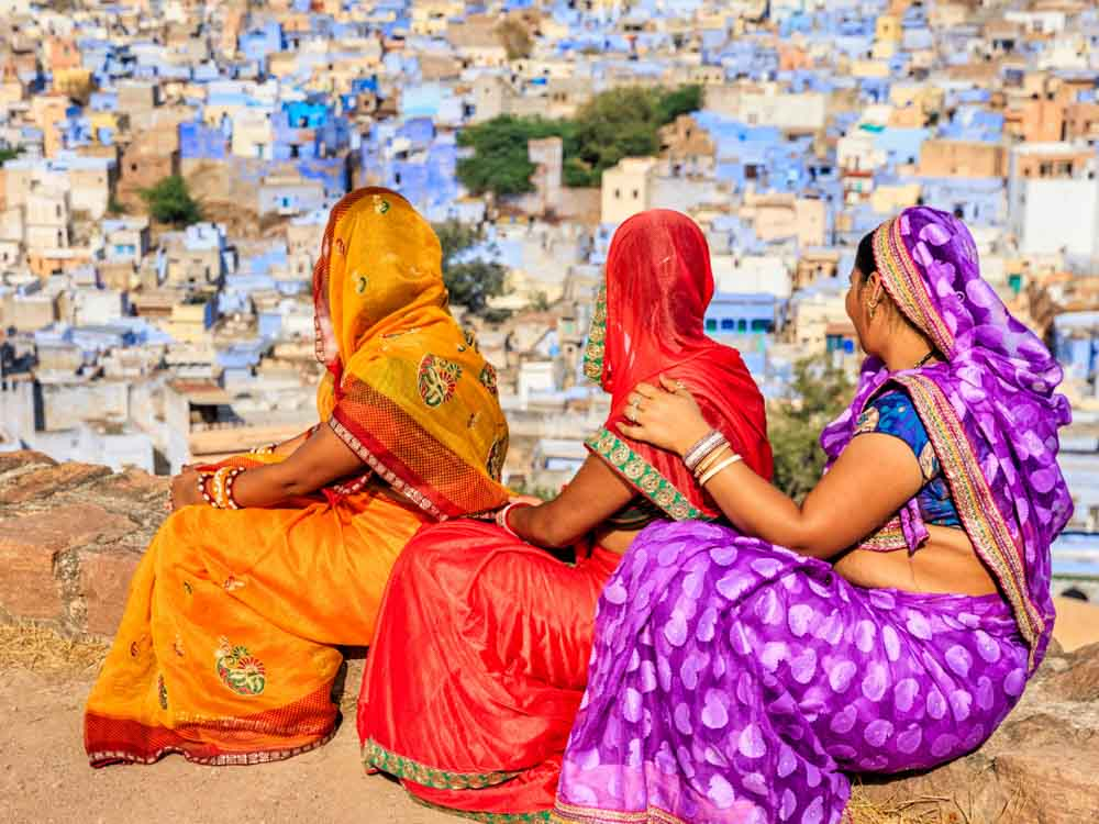 Indian Attires are some of the things famous about India