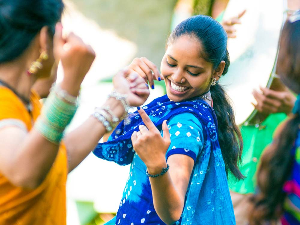 Indian Songs and traditional dances make India popular