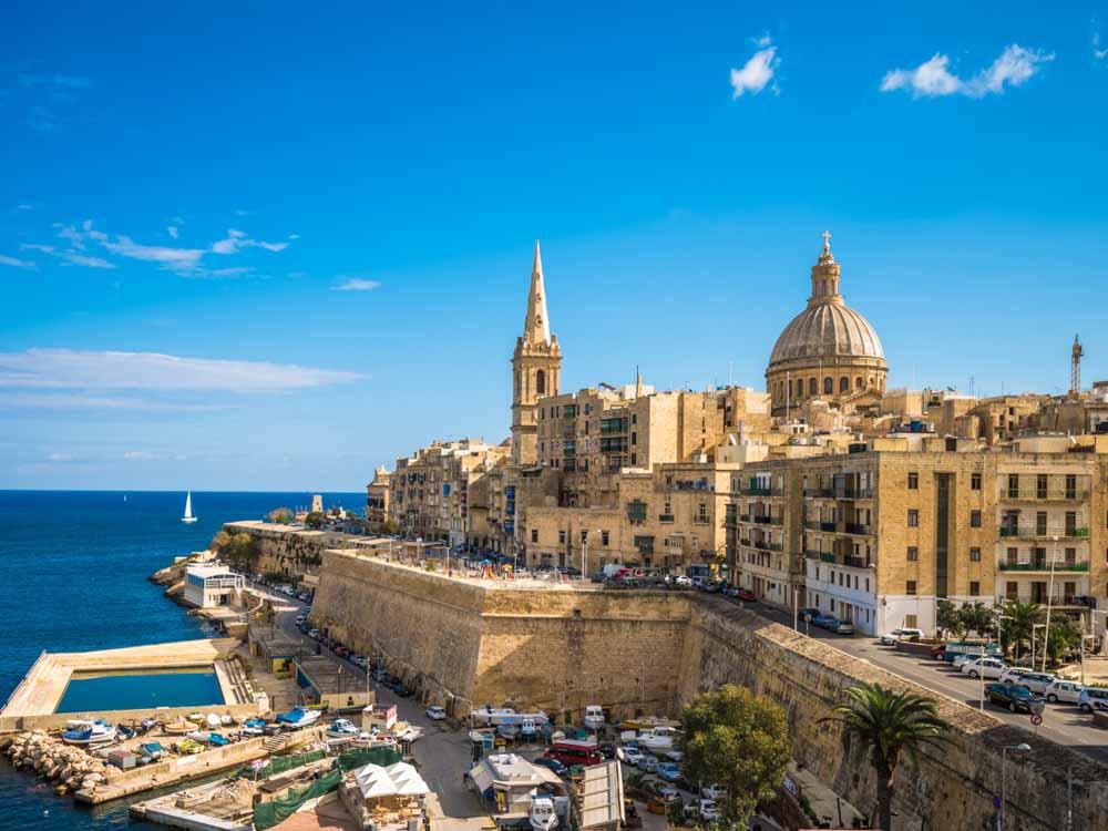 Malta - Capital, Valletta