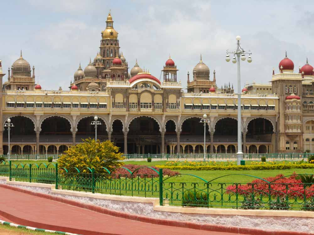 Mysore Palace is a famous landmark in india