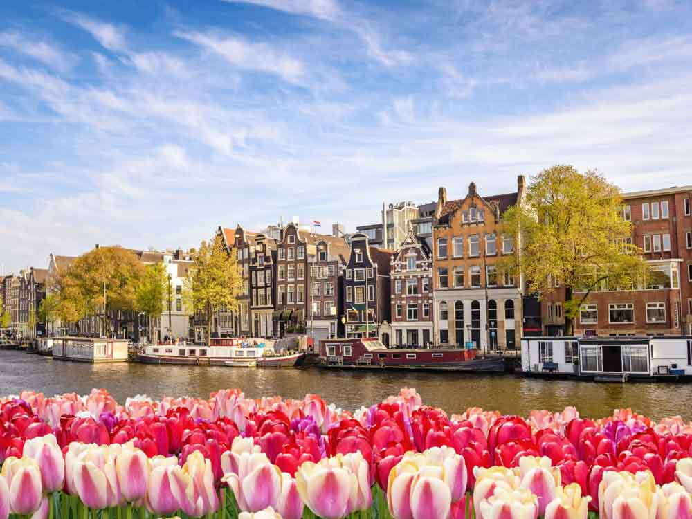 Amsterdam is nother beautiful capital in Europe not to miss