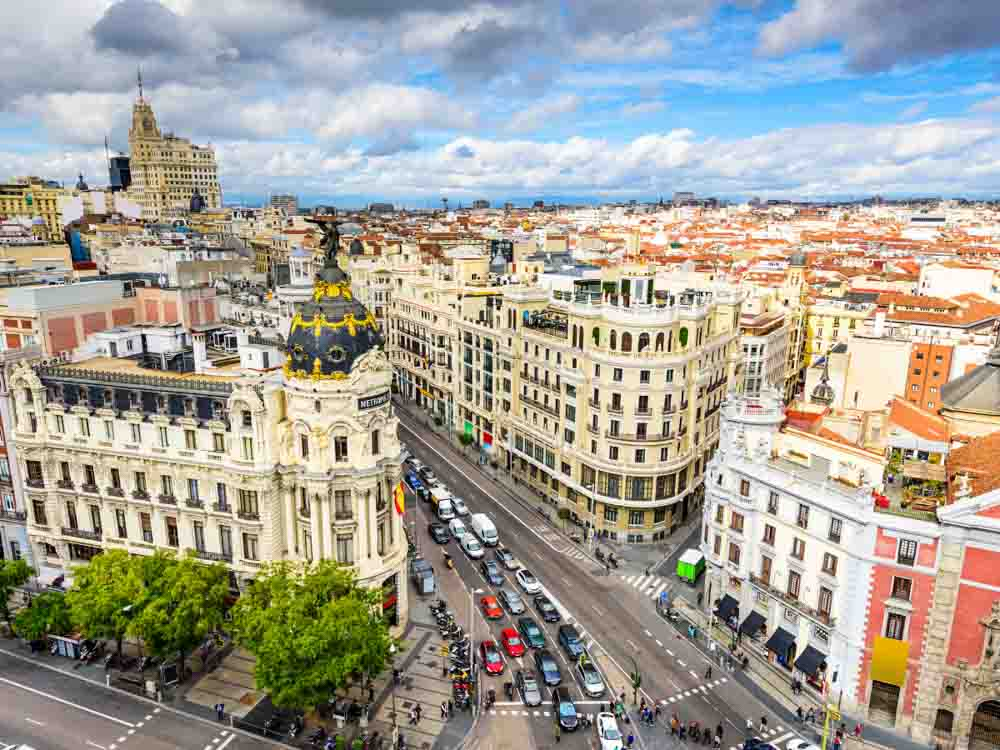 Madrid is one of the best European capital cities