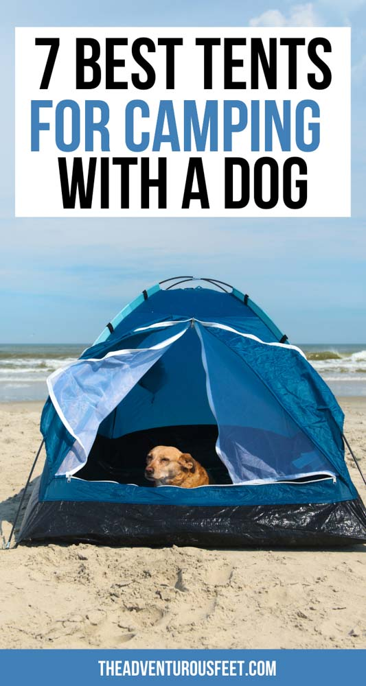 Planning to go camping with your dog but not sure which tent to take? This post will show you the best tents for camping with dogs.  best tent for camping with a dog  best camping tents for dogs  best tent for camping with dogs  best tents for dogs  dog tents for camping  best dog camping tents  dog tent for camping  tent camping with a dog  tent camping with your dog  dog friendly tents for camping  best tents for dog owners  tents for dogs camping