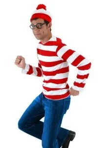 Where's Waldo Halloween Book Character Costume