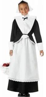 pilgrim girl thanksgiving costume