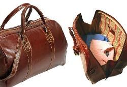 leather overnight bag boyfriend holiday gift ideas