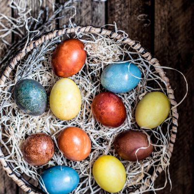 Easy Natural Egg Dyes at Home