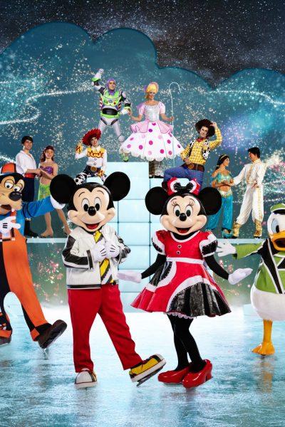 Disney on Ice cast on ice