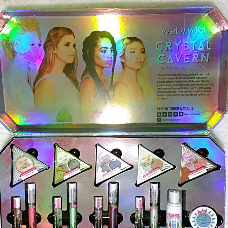 wet n wild Crystal Cavern Collection | The Aesthetic Edge